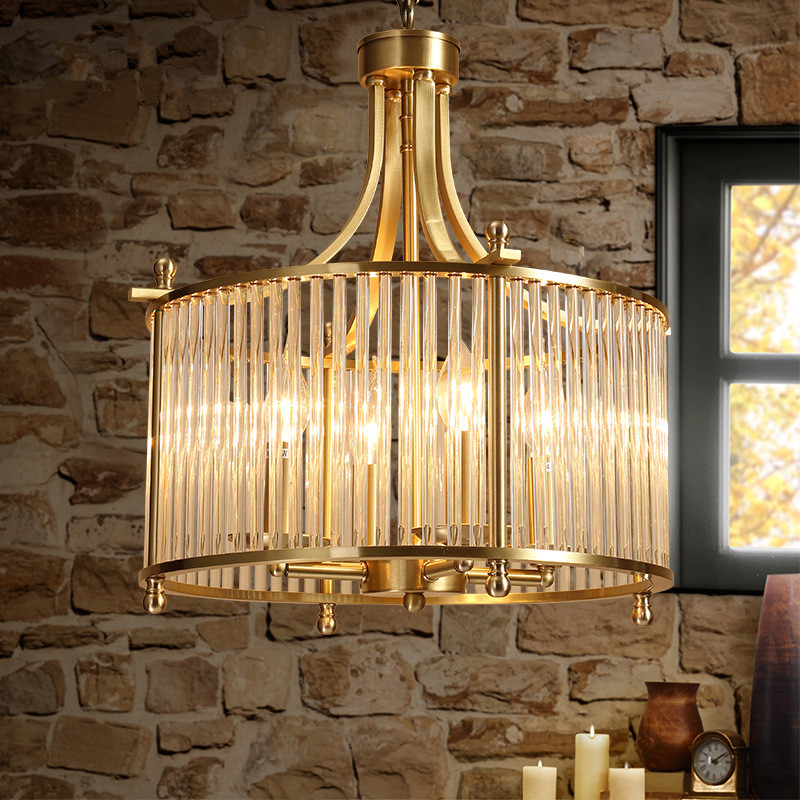 American country Vintage Creative Concise Art Style Restaurant Pendant Light Bedroom Cafe Bar Livingroom Copper Lamp Free Shippi nordic study restaurant bar american country art creative atmosphere table spark ball star pendant lamp lo8413