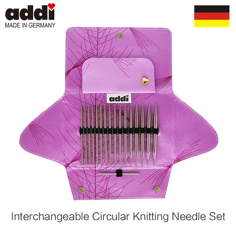 AddiClick Lace Long Tips interchangeable circular knitting needle set 760 7