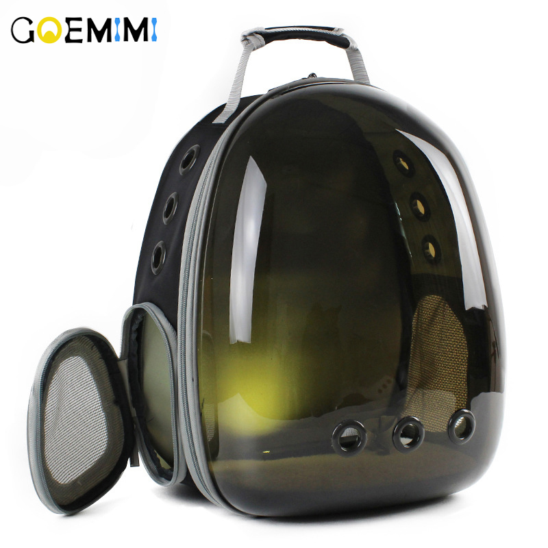 Brand New Cat Fashion Backpack Translucent Breathable Dog Carrier Bag Outdoor Pet Travel Carrier Bag Cat Space Capsule Carrier