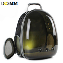 Brand New Cat fashion Backpack translucent Breathable Dog Carrier Bag Outdoor Pet Travel Space Capsule