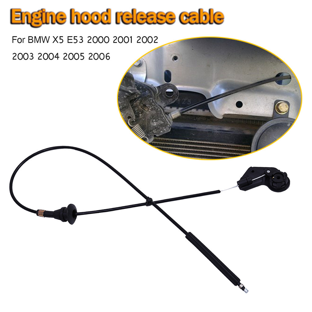 FRONT DOOR HANDLE PULL LOCK CABLE WIRE LEFT//RIGHT SIDE FOR BMW X5 E53 2000-2006