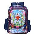 Moda de nueva lindo Doraemon de dibujos animados bolsas niños de la escuela los niños mochilas niños mochila