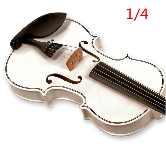 V122 High quality Fir violin 1/4 violin handcraft violino Musical Instruments Free shipping high quality white color violin 1 4 violin handcraft violino musical instruments