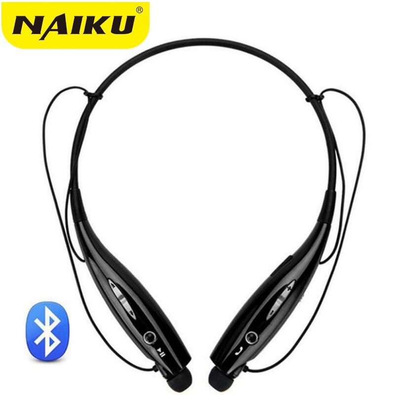 NAIKU 730 Wireless Bluetooth Headset Sports Bluetooth Earphones Headphone with Mic Bass Earphone for Samsung iphone