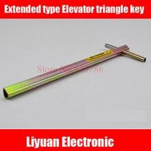1 шт 100 мм Расширенный тип Лифт треугольный ключ/Профессиональный треугольный ключ/поезд треугольный ключ