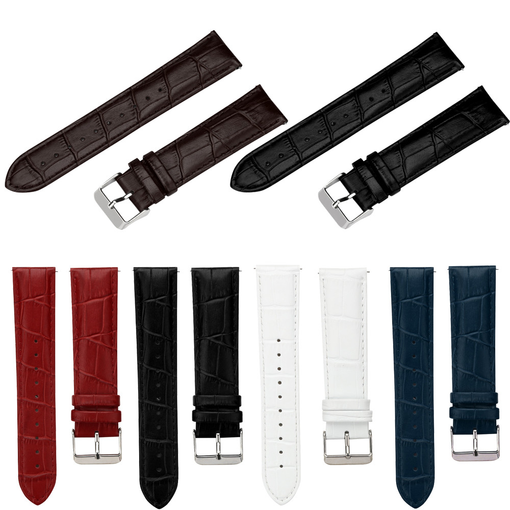 watch bands strap bracelets 2018 New Arrival Replacement PU Leather Watch Bracelet Strap Band For Samsung Gear S3 Frontier Hot silicone rubber watch band strap replacement smartwatch bands link bracelet for samsung galaxy gear s2 sm r720 black blue red