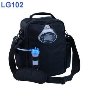 Image 1 - 4 horas de tempo da bateria mais novo mini lovego concentrador de oxigênio portátil lg102p