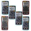 Digital-Multimeter 6000 zählt Hintergrundbeleuchtung AC/DC Amperemeter Voltmeter