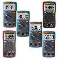 Multímetro Digital 6000 recuentos contraluz AC/DC amperímetro voltímetro