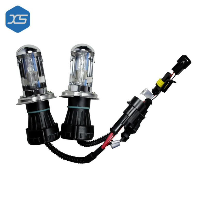 2PCS 1pair Bi Xenon Hid Bulbs 35w 12v H13 9004 9007 H4 4300K 5000k 6000k 8000K 10000k Warm White Yellow