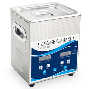 Image 3 - Ultrasonic Cleaner 2L 120W Digital Degas 110V/220V 40khz Remove Oil Rust Nozzle Hardware Optical Lens Dental Tools Heating Wash