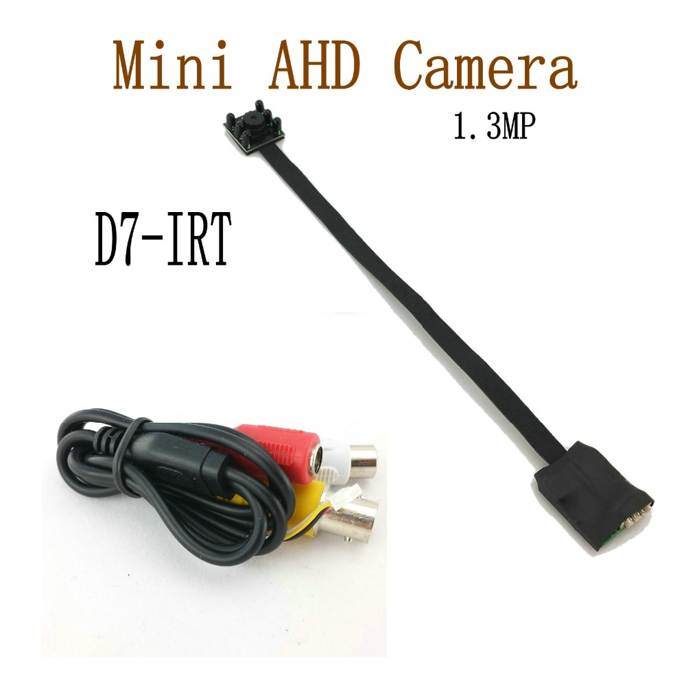 1.3MP Mini AHD Camera Micro Audio Camera AHD/TVI/CVI/CVBS 4 IN 1 UTC for AHD DVR Kits Micro CCTV Camera Security System DC 12V 1.3MP Mini AHD Camera Micro Audio Camera AHD/TVI/CVI/CVBS 4 IN 1 UTC for AHD DVR Kits Micro CCTV Camera Security System DC 12V