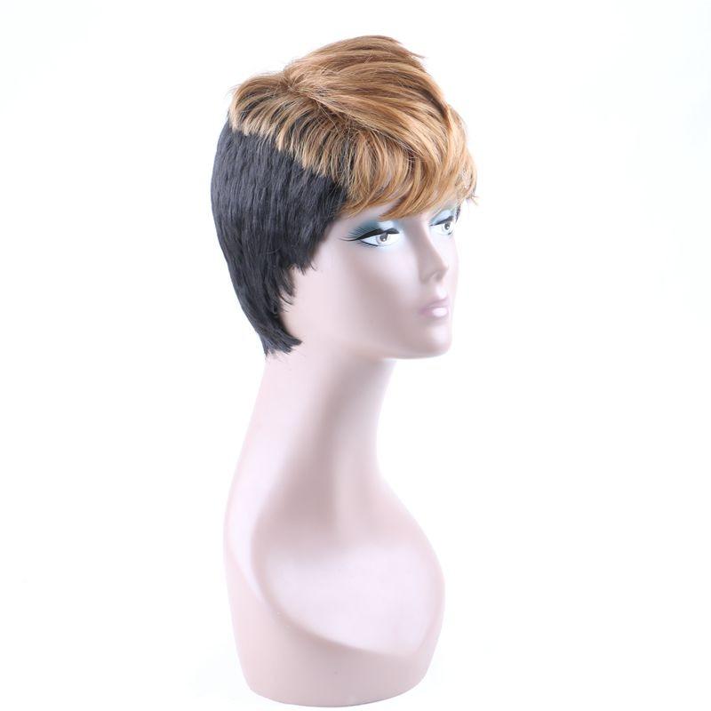 Lyx för Braiding Ombre Svart Blond Röd Brun Värmebeständig Non - Syntetiskt hår