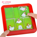 Creative Hen Looking for Eggs Maze Game Slide Puzzle Novelty Labyrinth Game Jigsaw Board Toy Children Learning Education Toys