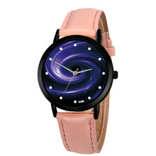 Unisex Classy Creative Space System Watch Unique Solar Astronomy Planets Casual Quartz Leather Strap Analog Watches Relogio Fem