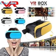 VR КОРОБКА Виртуальная Реальность 3D Очки Bluetooth + Наушники/Резиновые покрытия Нефти LJJ0120