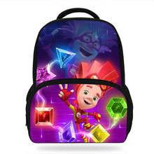 Fashion Cartoon  Fiksik Print Children School Bags for Boys Shoulder Backpack Students Bookbag Kids Satchel Girl sweet print and cartoon design satchel for women