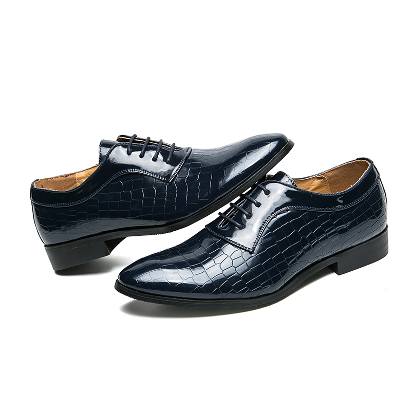 Reptile Skin Male Formal Shoes