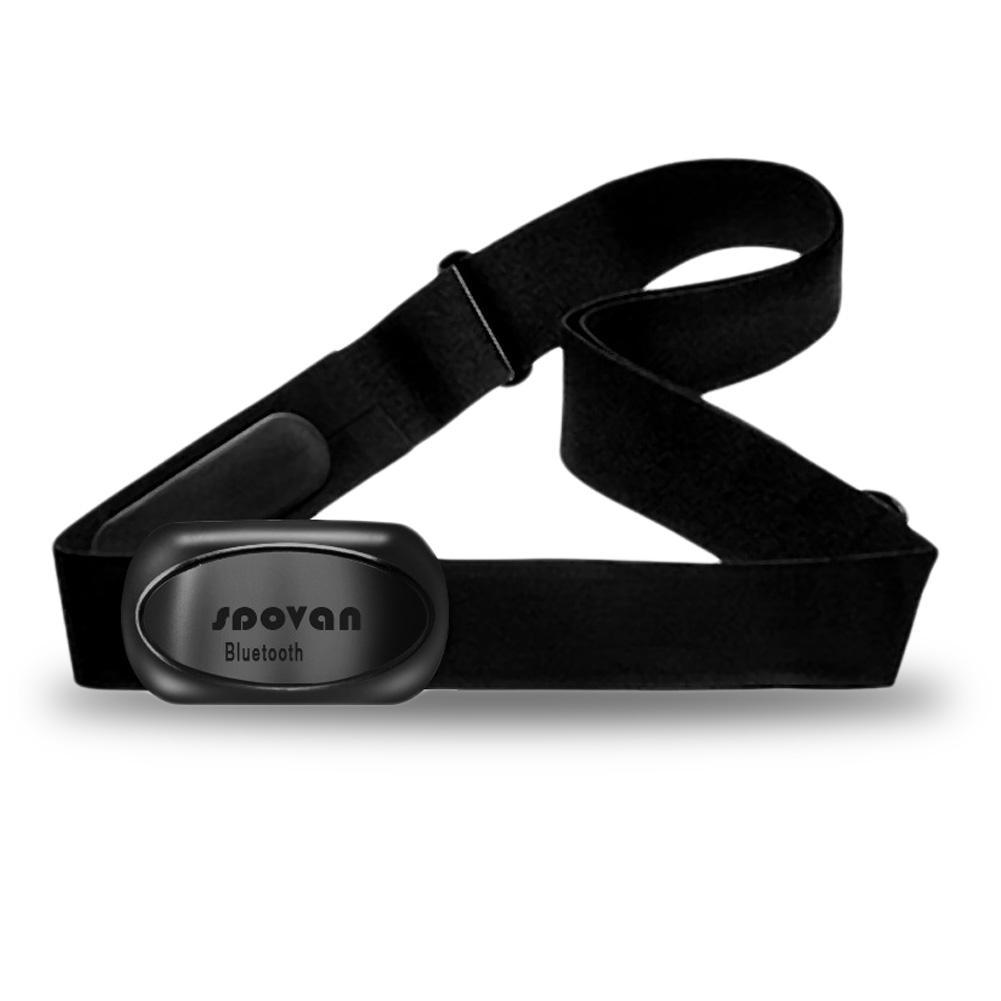 Spovan Chest Strap Belt Bluetooth Sport Heart Rate Monitor Sensor Wireless ANT Smart Outdoor Fitness Equipment Training Sport Wa