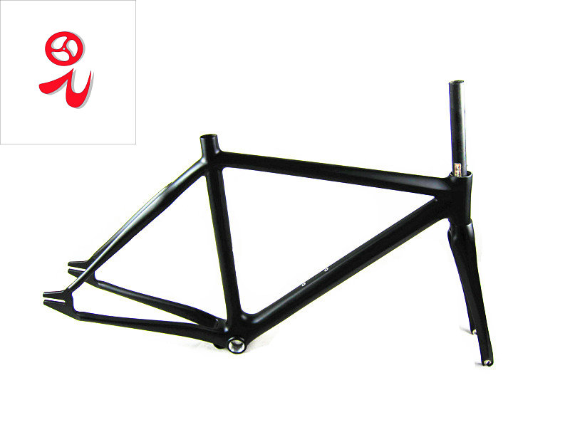 Carbon Fixed Gear Bicycle Frame Carbon Fiber Fixed Gear Bike Frame Track Bicycle Frame Carbon Fixed Gear Bike