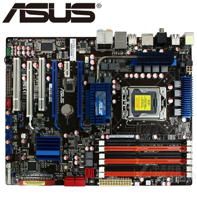 original Desktop motherboard ASUS P6T SE DDR3 LGA 1366 24GB USB2.0 X58 Desktop Motherboard Free shipping original motherboard for asus p5kpl am se ddr2 lga 775 for core pentium celeron 4gb g31 desktop motherboard free shipping
