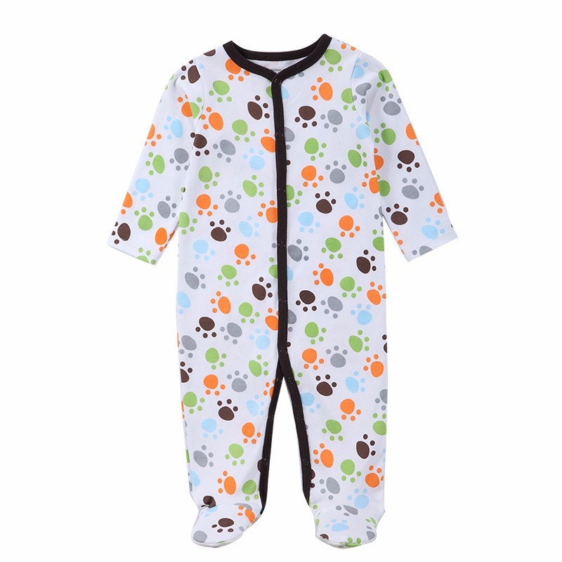 Mother Kids Baby Clothing 2016 New Similar Carters 7 Kinds Newborn Baby Boy Gril Romper Clothes Long Sleeve Infant Product  (4)