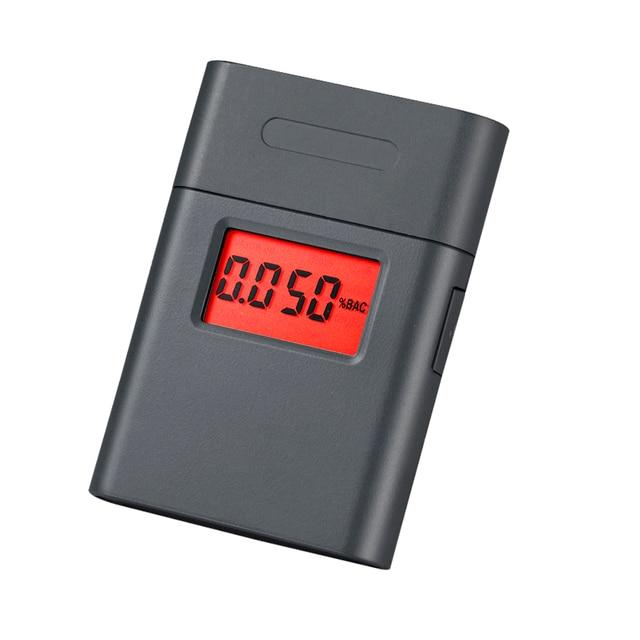 Nowy Wyświetlacz LCD Breath Tester Alkoholu Wina Ustniki Tester Alkoholu Alkomat Dla Kierowców