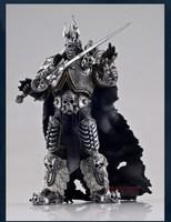 Beroemde Spel Karakter WOW De Lich King Action Figure Fall van de Lich King Arthas Menethil 7 inch PVC Speelgoed Figuur Gratis verzending