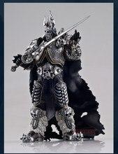 Ünlü oyun karakteri WOW Lich kral Action Figure sonbahar Lich kral Arthas Menethil 7 inç PVC oyuncak figürü ücretsiz kargo
