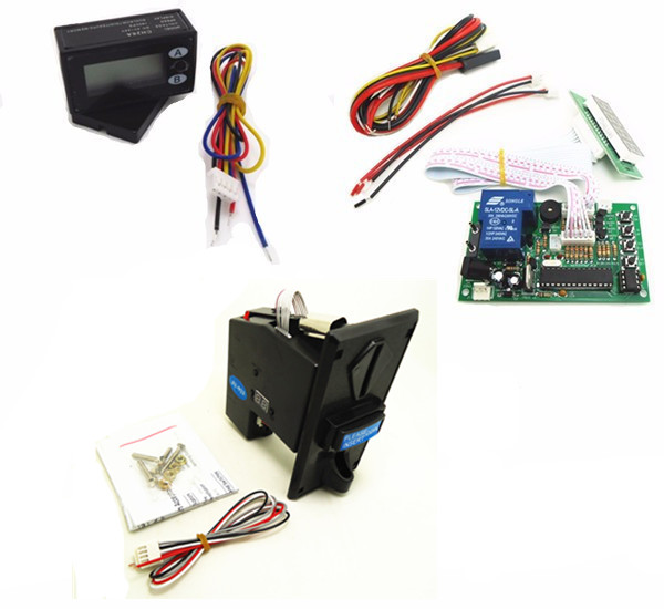 1 KIT of JY-926+JY-15B+JY-26A multi coin acceptor with timer board coin operated time control device for cafe kiosk перчатки shirai jy c6135 308 shrai c6135