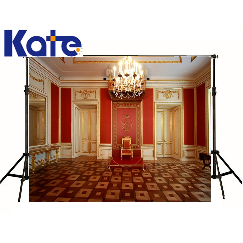 Kate Photographic Background Indoor European Architecture Chandelier Photo Studio Backdrops Baby Children 10ft*20ft