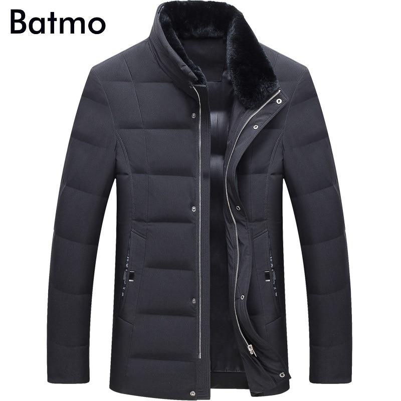 Men's Clothing Contemplative Batmo 2018 New Arrival Winter High Quality Warm 80% White Duck Down Fur Collars Jakcet Men,winter Coat Men,parka Men,17083 Jackets & Coats