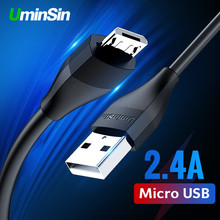 Uminsin Micro USB Cable Fast Charge Phone charger Data Cable for Xiaomi Android USB Charging Cord Microusb Charger USB Wire Cord цены