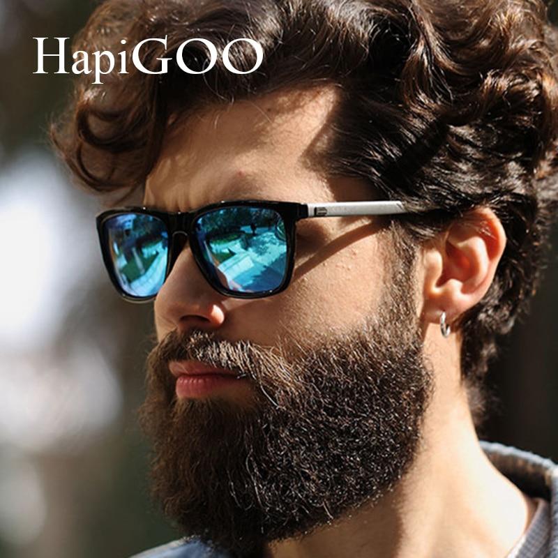 83fcdd2ae6 HAPIGOO Classic Women Aluminum Polarized Square Sunglasses Men Driving  Mirror Retro Brand Designer Sun Glasses For Mens UV400