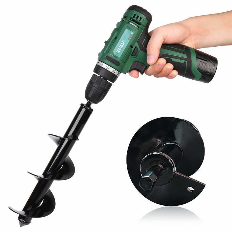 Yard Butler Digger Garden Auger Drill Bit Planting Irrigation Weeding Steel Tool Electric Hammer and Water Borer