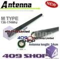 5-046 látigo V 14 CM antena para GP-2000 GP-68 GP-328 +