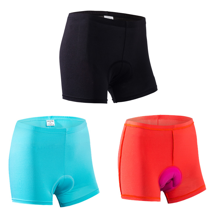Cycling Underwear Shorts Breathable 3D Padded Cycling Shorts for MTB Road Bike Shorts for Women bermuda ciclismo 3 Colors