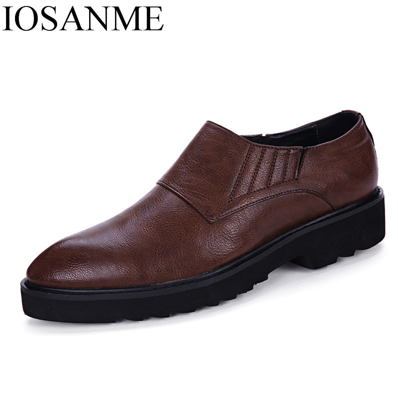 Pointu Brogue Chaussures Bout Robe Designer Hommes Pour Noir D'affaires Marque Formelle De Bureau marron Luxe Mâle Élégant Noir Oxford 67SqwW