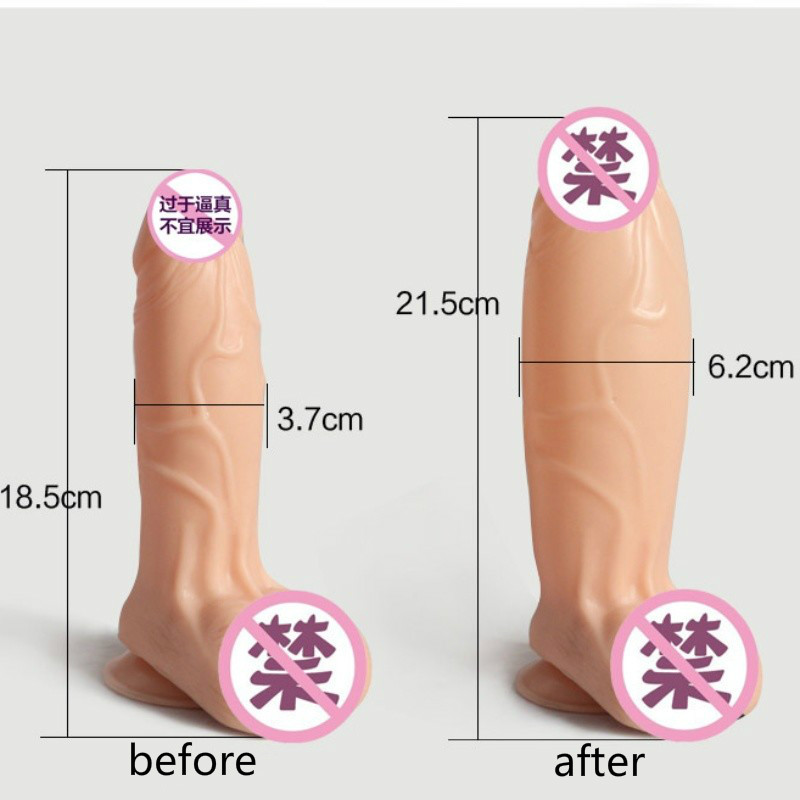 <font><b>Big</b></font> <font><b>Dildo</b></font> For Women Adult Toys Sexy Shop <font><b>Big</b></font> Cock Huge <font><b>Dildos</b></font> Dick Inflatable Penis Sexy Toy Anal Vagina <font><b>Sexs</b></font> Shop image
