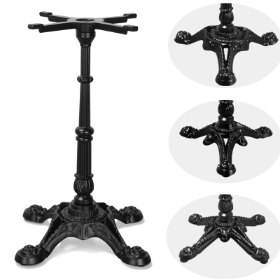 Cast Iron Tiger Claw Table Legs Western Restaurant Table Legs Retro Dinner Table Foot Support Iron Support Frame Table Feet