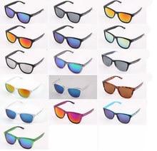 16 colores Caja de Embalaje Marca tralyx Gafas de Sol Hombres Mujeres Deportes Al Aire Libre Gafas Gafas Gafas De Sol Hombre Gafas de velo