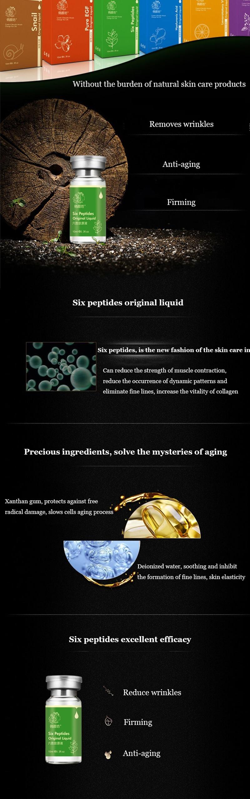 Argireline Collagen Original Liquid Anti Wrinkle Anti-Aging Serum Plant Extract Moisturizing Face Care Treament Anti-aging Cream 1