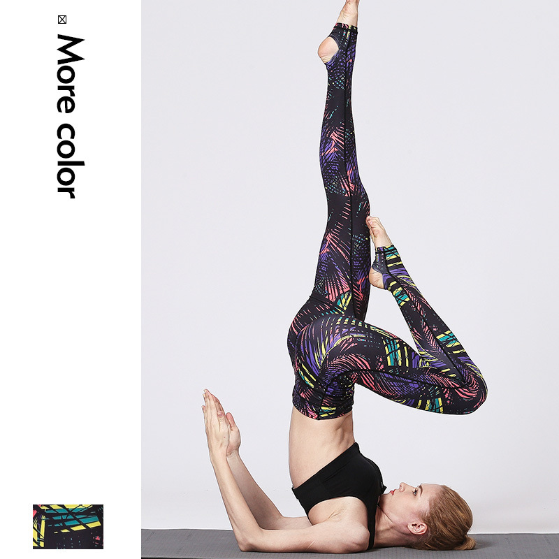 women yoga pants stretch high waist yoga trousers leggings sweatpants running jogger fitness gym workout track pants sportswear in Yoga Pants from Sports Entertainment