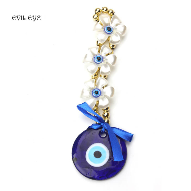 1pc chic blue evil eye pendant with white flower acrylic jewelry car key chain decoration jewelry birthday gifts in key chains from jewelry 1pc chic blue evil eye pendant with white flower acrylic jewelry car key chain decoration jewelry mozeypictures Choice Image
