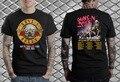 Guns N Roses T-Shirt concerto Não neste tempo de vida de 2016 Homens e mulheres tee euro tamanhos-XXXL