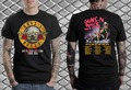Guns N Roses concert T-Shirt Not in this life time 2016 Men and women tee euro sizeS-XXXL