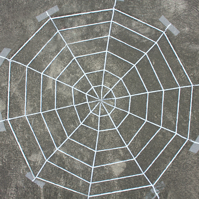 blackwhite nylon 1525m creepy new huge spider web halloween decoration cobweb