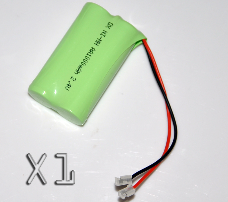 1PCS 2.4V AA 1000mah rechargeable battery pack 2A ni-mh nimh batteries NI MH cell for RC toys emergency light cordless phone B