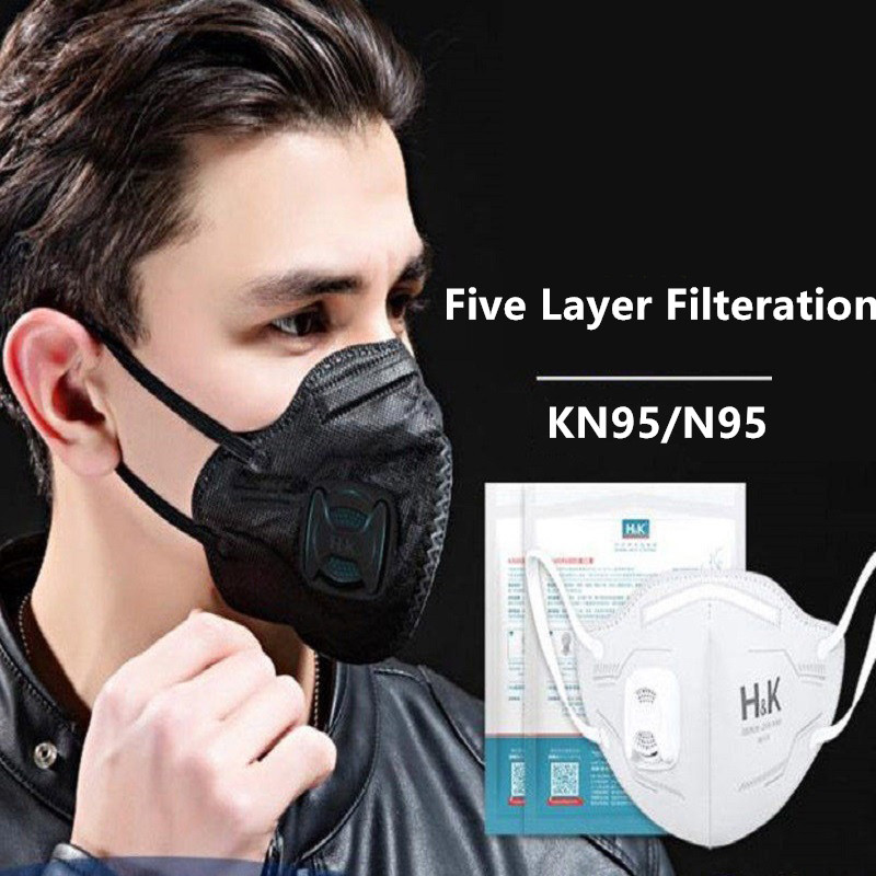 Non-woven PM2.5 Anti-dust Unisex Mask Activated Carbon Anti-fog Protect Breathable Industrial Dust-proof Anti-particles Cycling