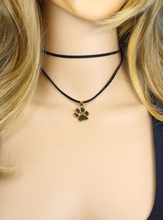 Dog love paw necklace / 6 Colors